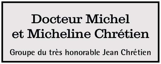 Docteur Michel et Micheline Chrétien