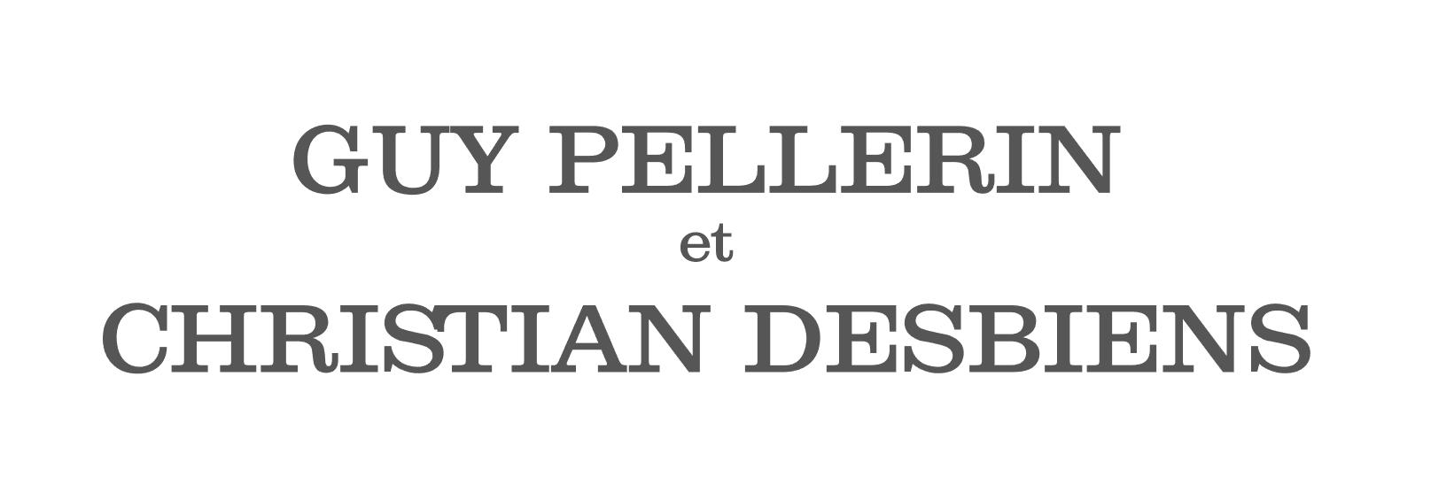Guy Pellerin et Christian Desbiens